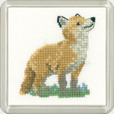 Fox Cub Little Friends by Valerie Pfeiffer Susan Ryder coaster k